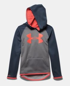 Girls' UA Armour® Fleece Big Logo Hoodie