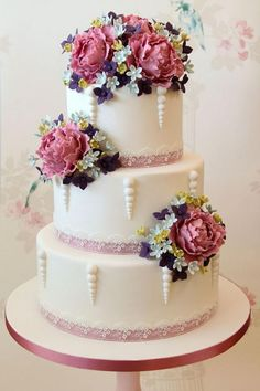 See more about wedding cake, cake flowers and cake.