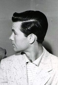 Jack Benny Johnny Carson Benny Show 1955 crop - Hairstyles in the 1950s - Wikipedia, the free encyclopedia