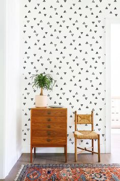 OFF from Boho style wallpaper Removable wallpaper Boho Washable Wallpaper, Vinyl Wallpaper, Hand Painted Wallpaper, Bohemian Room Decor, Accent Wall Bedroom, Paint Accent Walls, Living Room Wallpaper Accent Wall, Accent Wallpaper, Bedroom Wallpaper