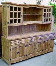 This just has to be my kitchen hutch!!!!  I love this!!!  It will go great in a rustic Italian themed kitchen!!!