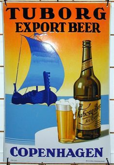 Beer Advertisement, Retro Advertising, Pub Signs, Beer Signs, Vintage Ads, Vintage Posters, Beer Commercials, Beer Poster, Beer Art