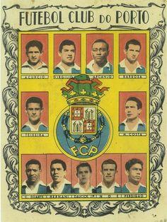 FC Porto team stickers in 1958.