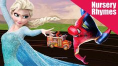 The Wheels on The Bus Spiderman and Elsa Rhyme. In This amazing episode you will see a wonderful rhyme with two main characters. Wheels On The Bus, Rhymes For Kids, Elsa, Spiderman, Disney Characters, Fictional Characters, Aurora Sleeping Beauty, Disney Princess, Children