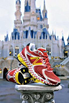 New Balance Minnie Mouse shoes!!! Everyone email New Balance and tell them to start selling online, not JUST at the marathon!!!