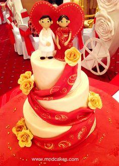 Indian Cake, Indian Wedding Cakes, Themed Wedding Cakes, Amazing Wedding Cakes, Elegant Wedding Cakes, Amazing Cakes, Indian Theme, Indian Style, Cupcakes