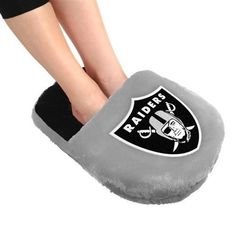 Oakland Raiders Team Foot Pillow