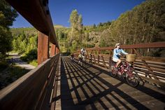 Things to Do in Colorado in Summer: white-water rafting, kayaking, ziplining and other river and mountain fun in the Roaring Fork Valley Near Aspen and Glenwood Springs.: Biking (Flat!), Hiking, Hot Springs
