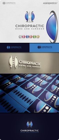 Bone Chiropractic Logo on Behance