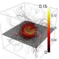 Magnetic field lines in a plasma reconfigure into a donut shape