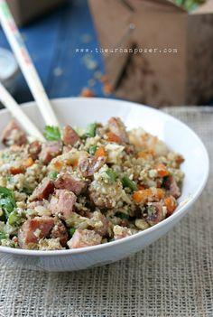 Street Foods: Vietnamese Cauli-Fried Rice W/Nước Chấm (Grain Free)