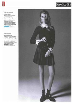 F - editorial 2014 #nerogiardini #womenshoes #british