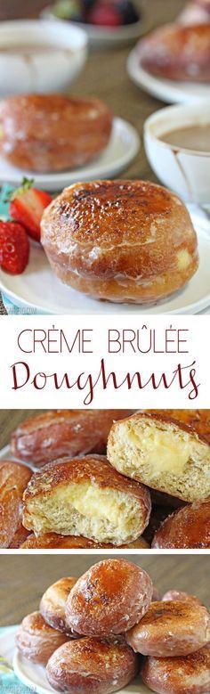 Creme Brulee Doughnu