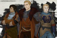 lilyrutherfordblog.tumblr: [10/27/2015] - KIM (Knight-Captain Rylen, Commander Cullen Stanton Rutherford, Michel de Chevin in Dragon Age: Inquisition)