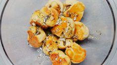 Meatball stuffed garlic knots | Tasty