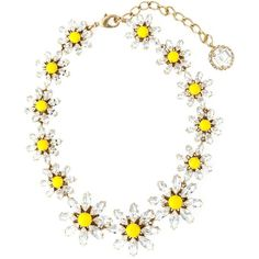 Dolce & Gabbana daisy necklace ($1,240) ❤ liked on Polyvore featuring jewelry, necklaces, metallic, dolce gabbana jewelry, white jewelry, dolce&gabbana, white necklace and metallic jewelry