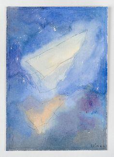 Joseph Sima - Sans titre, 1960 Aquarelle et plume, encre de chine sur papier, 34 x 24,5 cm Collection particulière © Photographe Alberto Ricci Joseph, Fine Art, Ciel, Abstract, Artwork, Illustrations, Google, Collection, India Ink