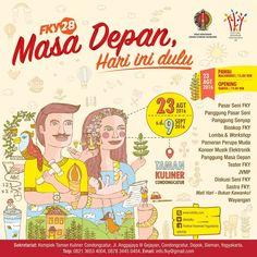 Masa Depan Hari Ini Dulu, Tema FKY Ke-28 - http://yukdolanjogja.com/wp-content/uploads/2016/08/FKY28-1024x1024.jpg - http://yukdolanjogja.com/masa-depan-hari-ini-dulu-tema-fky-ke-28/ -  #2016, #Event, #FKY28, #Sleman, #TamanKuliner, #Yogyakarta, #Yukdolanjogja