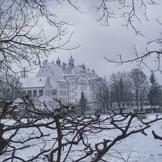 munich | germany | münchen | deutschland | untergiesing | agilolfingerschule im winter