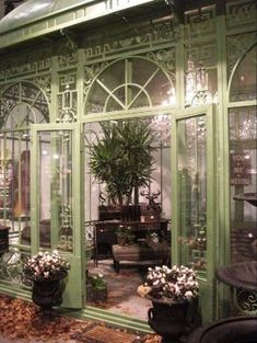 garden rooms sunroom conservatory The design of gardens, balconies an… Victorian Conservatory, Conservatory Garden, Victorian Gardens, Victorian Homes, Victorian Greenhouses, Conservatory Design, Wooden Greenhouses, Outdoor Rooms, Outdoor Living