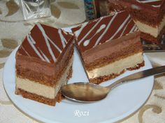 Rozi Erdélyi konyhája: Kapuciner szelet Hungarian Desserts, Hungarian Recipes, Cookie Recipes, Keto Recipes, Dessert Recipes, Nutella, Deserts, Food And Drink, Cheesecake