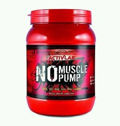 Activlab NO Muscle Pump Pre-workout creatine arginine glutamine matrix - 750g