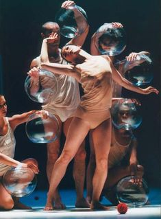Ballet Preljocaj with Near Life Experience and music by the French electro-pop group Air
