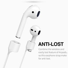 Wish | Airpods Strap, iAbler Airpods Magnetic Strap iPhone 8 / 8 Plus / X / 7 / iPhone 7 Plus AirPods Sports Strap Wire Cable Connector for Apple Airpods Like a Necklace with Your AirPods.