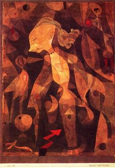 A young lady's adventure - Paul Klee