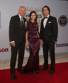General Hospital Nurses Ball The Fashion - ABC Soaps In Depth.Robert, Anna and Finn Maura West, Kirsten Storms, Michelle Stafford, Kelly Monaco, Dressed To The Nines, General Hospital, Bridesmaid Dresses, Wedding Dresses, Fashion Gallery
