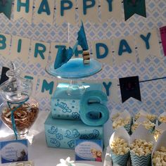Disney Frozen party decor