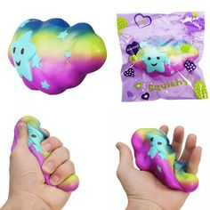 Only US$5.29, buy best Cloud Squishy Toy 15*4*8CM Slow Rising With Packaging Collection Gift Soft Toy sale online store at wholesale price.US/EU warehouse.