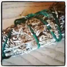 Homemade sage stick