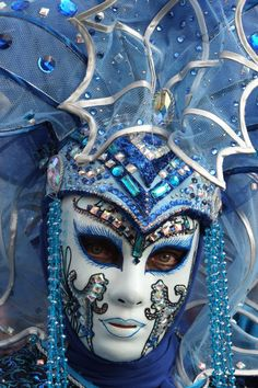 Venice Carnival - - Another Venice Carnival Costumes, Mardi Gras Carnival, Venetian Carnival Masks, Carnival Of Venice, Venetian Masquerade, Masquerade Masks, Venice Carnivale, Venice Mask, Clowns