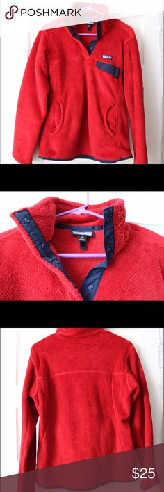 Patagonia Fleece Pullover Classic Patagonia pullover. Warm and durable. Only worn a few times. Patagonia Tops Sweatshirts & Hoodies