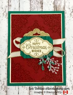 Hi there, today on SU Only Challenges we have a Christmas challenge, so I created a card using Flourish Filigree stamp set and dies from Frosted Bouquet Happy Christmas Wishes, Beautiful Christmas Cards, Christmas Makes, Christmas Gift Tags, Handmade Christmas, Christmas Ideas, Christmas 2014, Christmas Stuff, Diy Holiday Cards