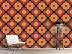 Design #Tapete Sunny Kaleidoskop