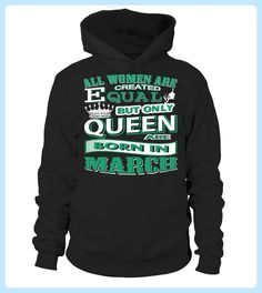 Queen Are Born In MarchBirthday Gift (*Partner Link)