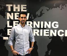 ¡En IM estamos de bienvenida! 🎊  Roberto Hinojosa, experto en creatividad en entornos digitales, se ha incorporado al equipo docente ✌🏻. Nuestros alumnos ya disfrutan de sus entretenidas y talentosas clases.😊