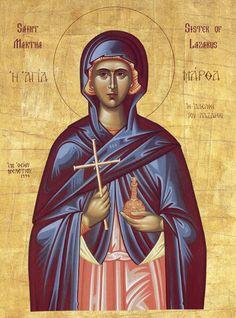 Orthodox St Martha icon
