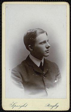 "Edward Hill Speight, ""Rupert Brooke"" (NYPL)."