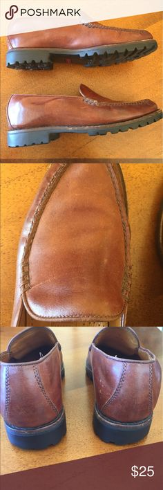 Cole Haan Country leather loafers These are amazing and the photos don't capture the rich brown leather.  Made in Brazil. Gentle wear. Great buy. Cole Haan Shoes Flats & Loafers