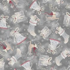 PEWTER-HOLIDAY ELEGANCE TOSS