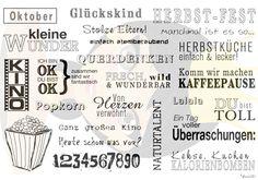 Anne´s Stempel Design - Wort- und Textstempel für Scrapbooking und Kartengestaltung - Anne581 - Anne´s Stempel Design - Wortstempel für Scrapbooking Fotoalben gestalten - Anne581