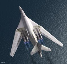 The Tupolev Tu-160 is a supersonic, variable-sweep wing heavy strategic bomber designed in the Soviet Union.