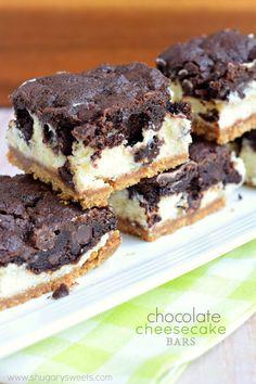 초콜릿 치즈케이크 바