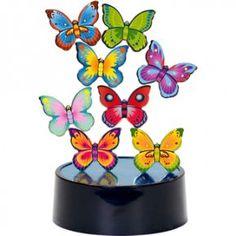 Magnetická skulptura - Motýlci