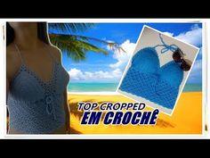 PASSO A PASSO -TOP CROPPED EM CROCHÊ (Com Bojo) - YouTube