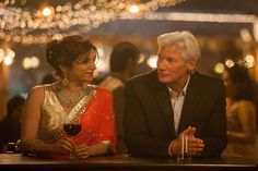 """Judi Dench and Maggie Smith return in the trailer for """"The Second Best Exotic Marigold Hotel"""" Maggie Smith, Richard Gere, Second Best, The Best, Indian Palace, Film Love Story, Taylor Swift Youtube, Senior Dating, Serendipity"""