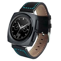 Generic A11 Leather Strap Bluetooth Smart Watch, Heart Rate / Pedometer / Sleep Monitor / Sedentary Reminder / Camera Remote Control(Black). Smart Electronics. Smart Watches. Wearable Technology. Cell Phones & Accessories. Smart Wearable.